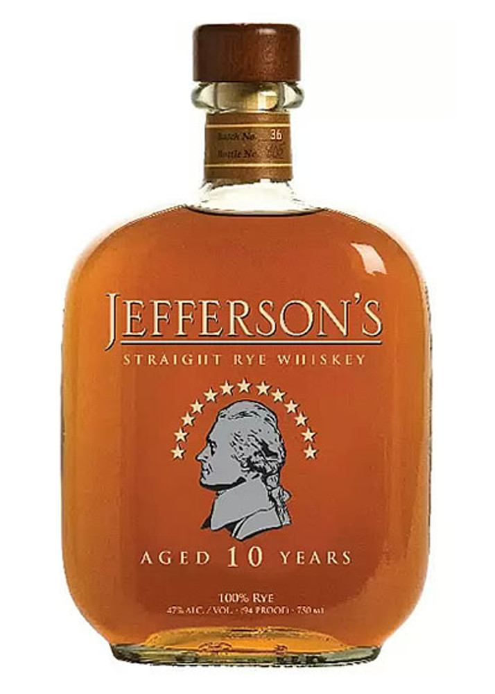 Jeffersons Straight Rye