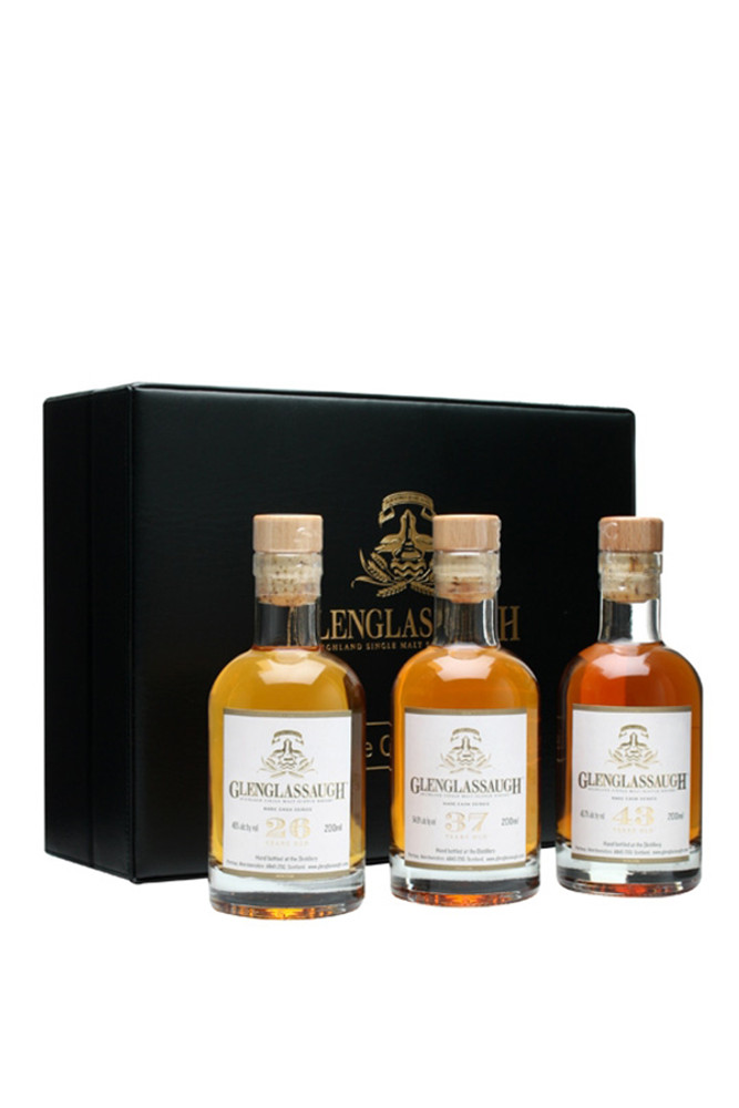 Glenglassaugh Rare Cask Series Set
