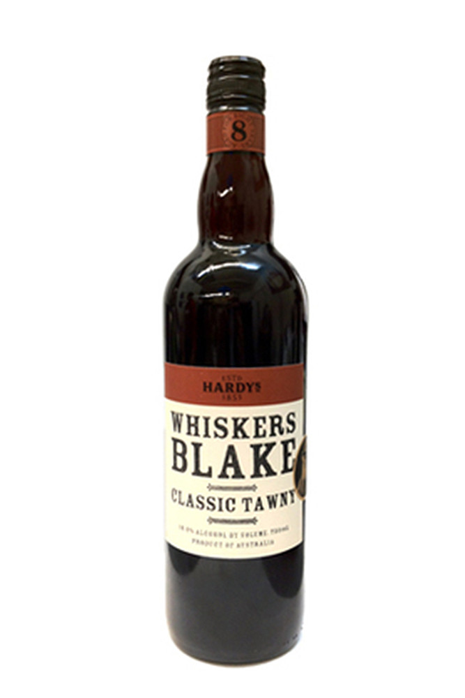 Hardys Whiskers Blake Tawny 8 Year Old Port