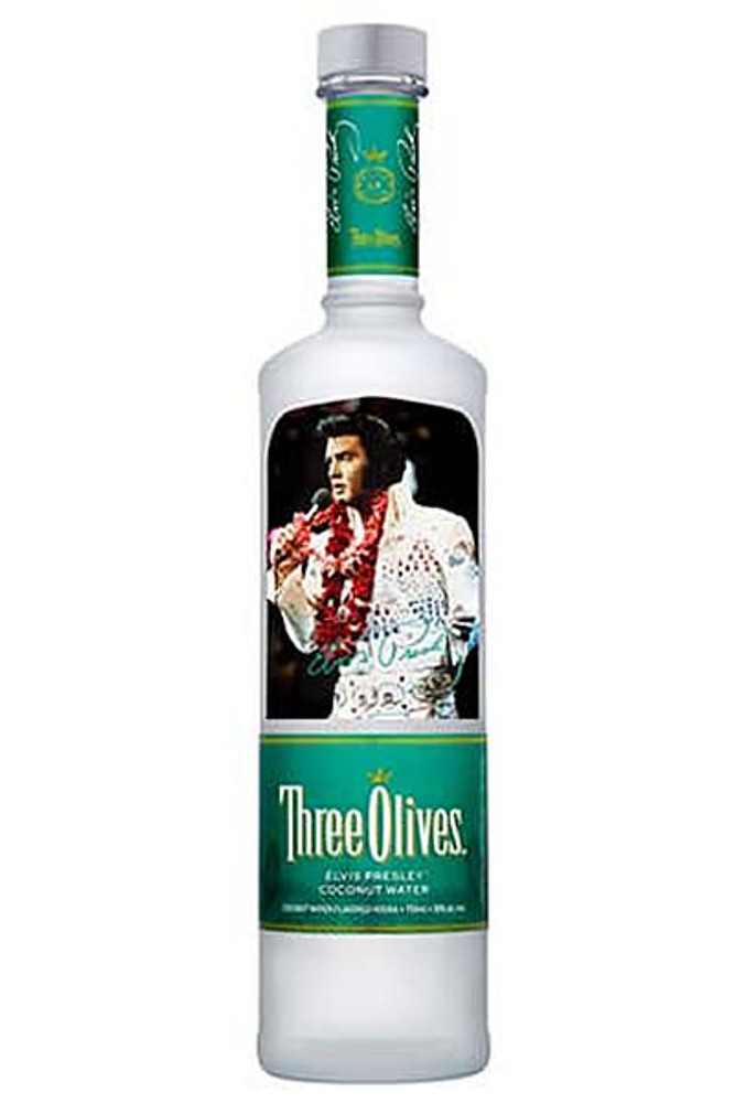 Three Olives Elvis Presley Coconut Water