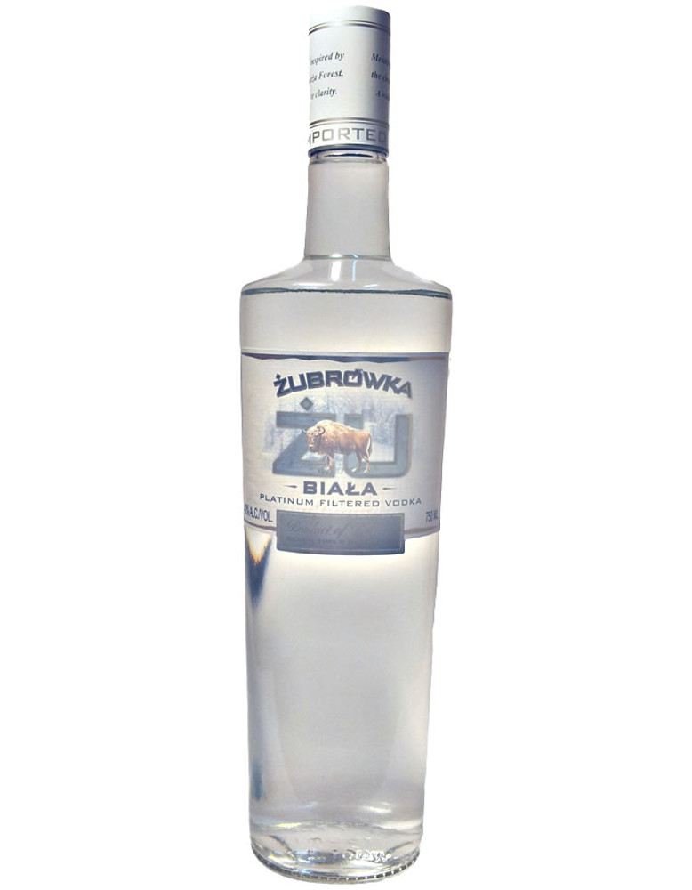 Zubrowka ZU Biala Vodka 750ML