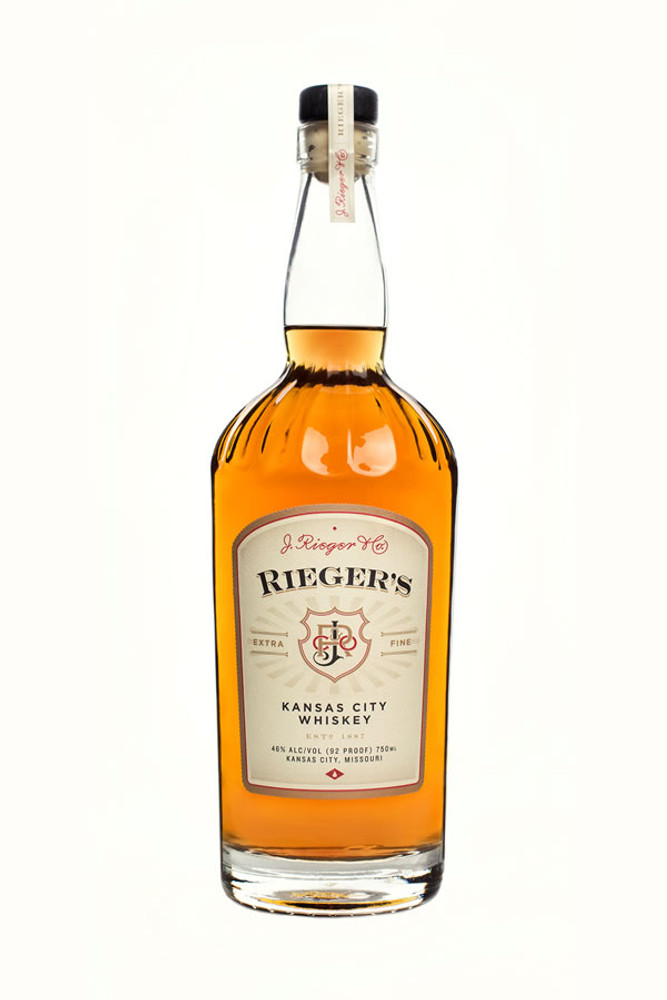 J Rieger & Co Rieger's 7 Year Kansas City Whiskey
