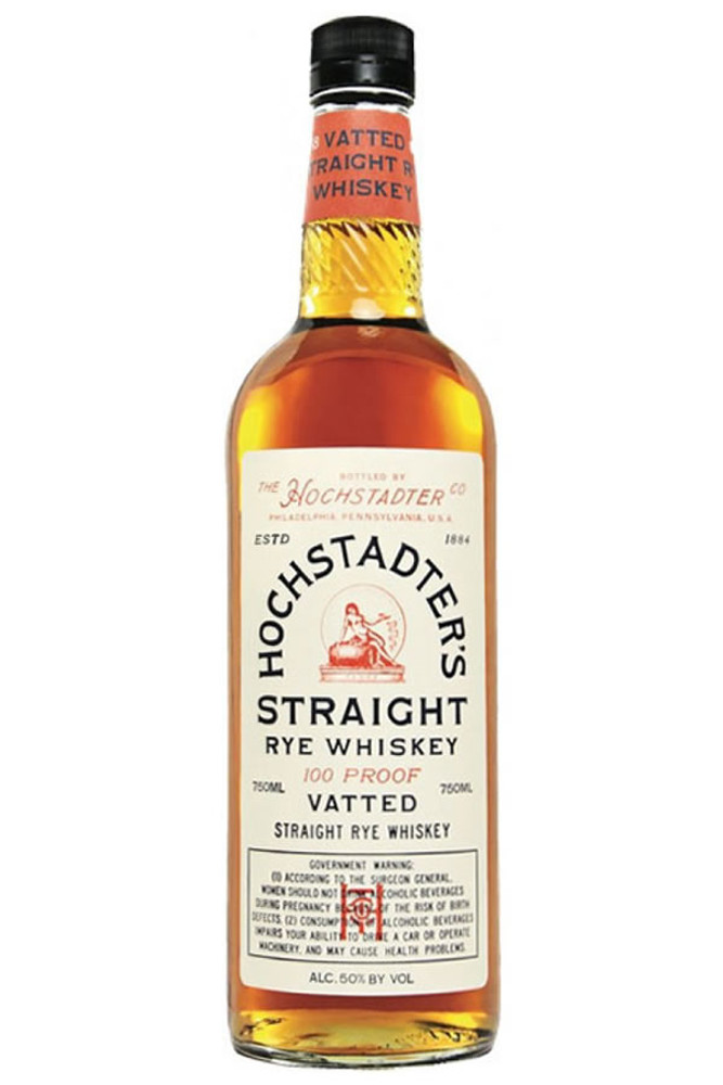 Hochstader's Vatted Straight Rye Whiskey