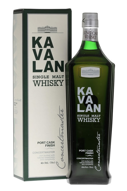 Kavalan Concertmaster Port Cask Finish Single Malt