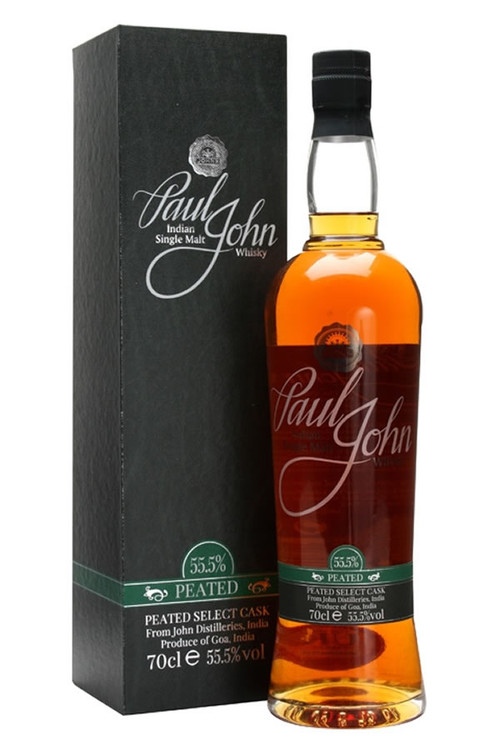 Paul John Peated Cask Strength Indian Single Malt