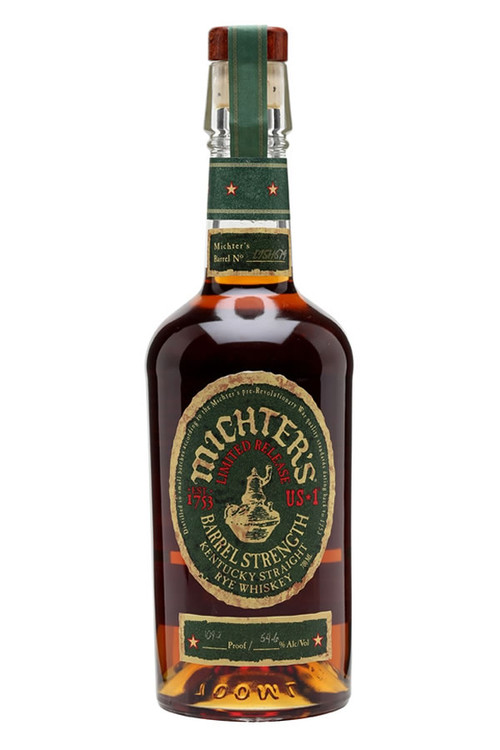Michter's US 1 Barrel Strength Straight Rye