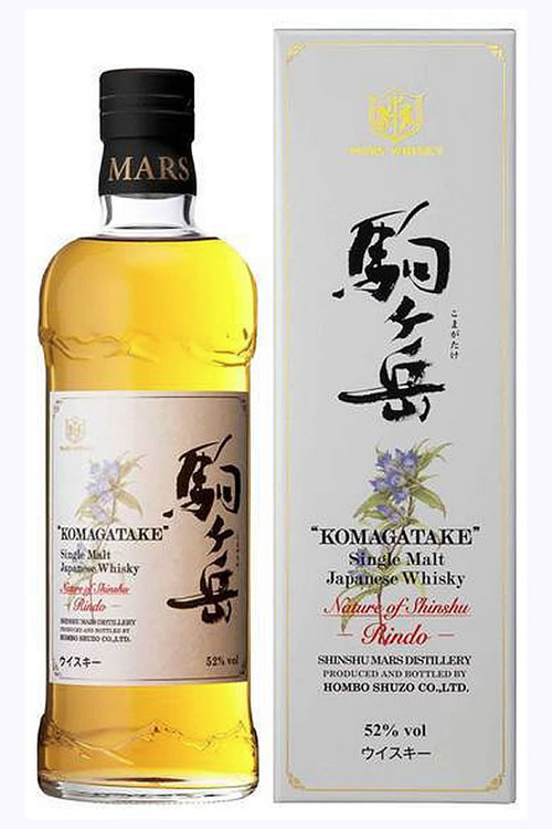 Shinshu Mars Iwai Komagatake Nature of Shinshu Rindo Japanese Whisky
