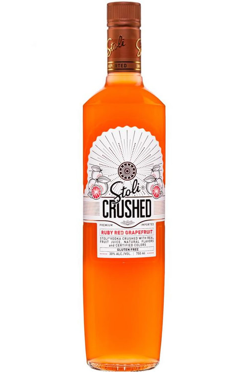 Stoli Crushed Ruby Red Grapefruit Vodka