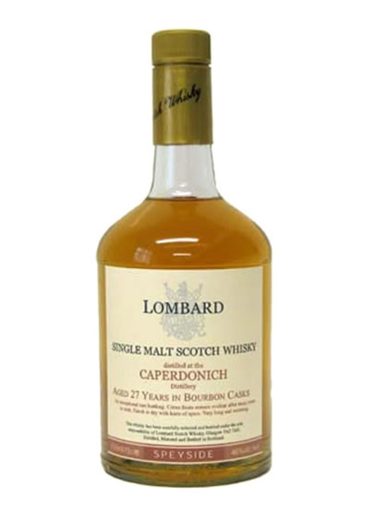 Lombard Caperdonich 27 Years Old 750ML