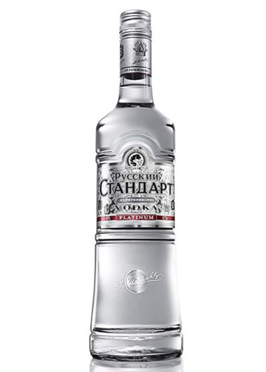 Russian Standard Platinum Vodka 1.75L