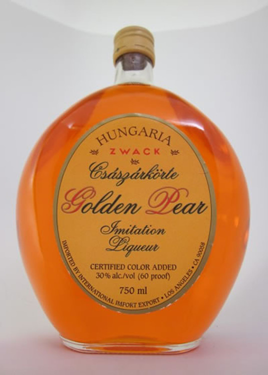 Zwack Hungaria Golden Pear Liqueur 750ML