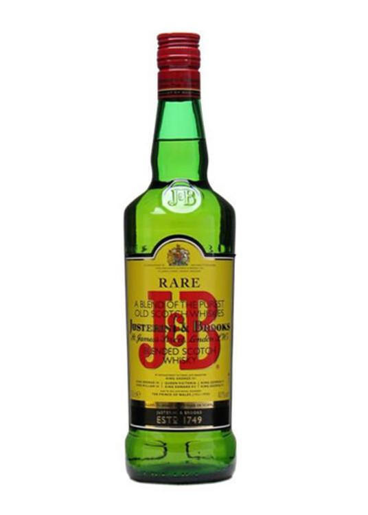J&B Blended Scotch 750ML
