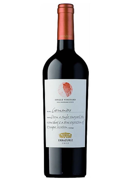 Errazuriz Single Vineyard Carmenere