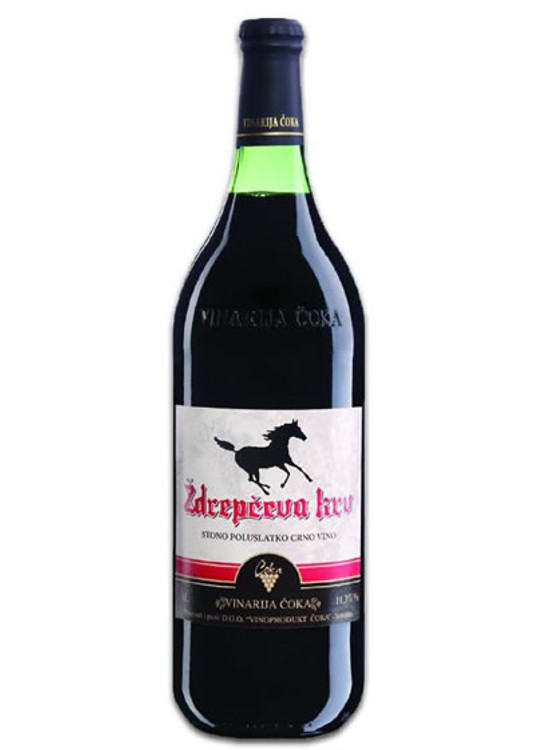 Black Stallion Semi-Sweet Red