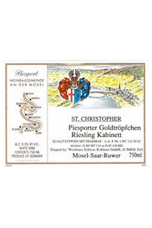 St Christopher Goldtropfchen Riesling Kabinett