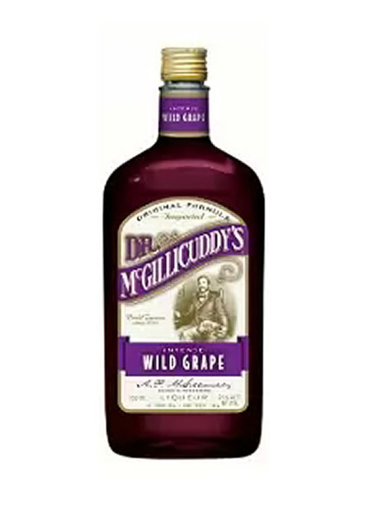 Dr Mcgillicuddy's Wild Grape 750ML