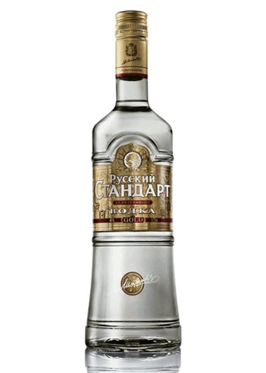 Russian Standard Gold Vodka 375ML