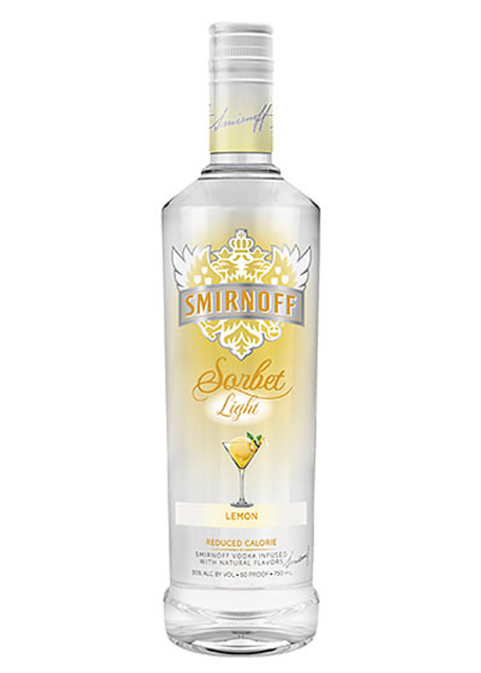 Smirnoff Sorbet Light Lemon