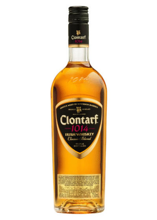 Clontarf Black Label Irish Whiskey 750ML