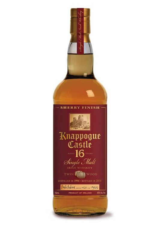 Knappogue Castle 16 Year Twin Wood Sherry Finish