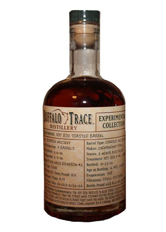 Buffalo Trace Experimental Collection Oat Mash Bourbon