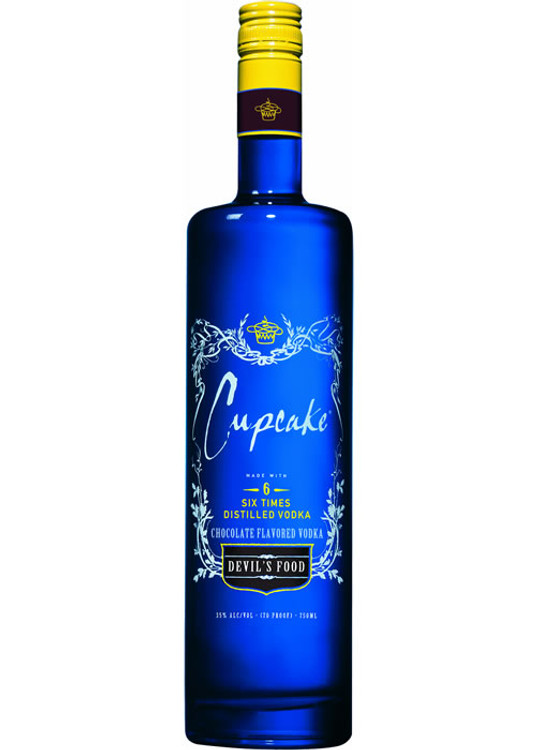 Cupcake Devil's Food Vodka 750ML