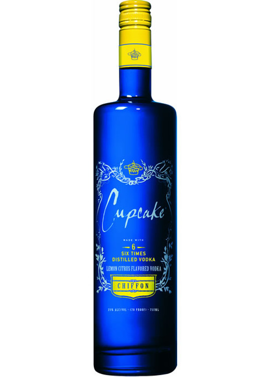 Cupcake Chiffon Vodka 750ML