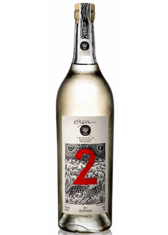 123 Organic Tequila #2 Reposado