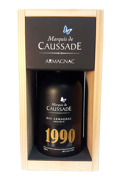 Marquis De Caussade 1990 Vintage Armagnac 750ML