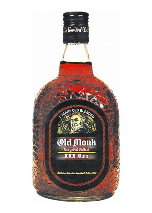Old Monk XXX 7 Years Old Rum 750