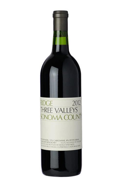 Ridge Vineyards Three Valleys Zinfandel