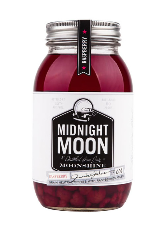 Junior Johnson's Midnight Moon Raspberry Moonshine
