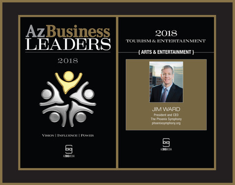 Az Business Leaders Plaque Style A - Black w/gold trim: Cover and page