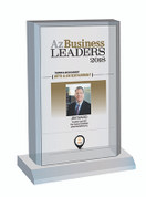 Az Business Leaders Plaque Style C: Desktop plaque
