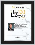 Top Lawyers 2017 Style B - Black w/silver trim