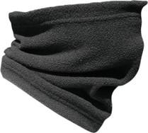 Black - Gears Neck Shield Neck Warmer