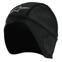 Black - Alpinestars Skull Cap Head Liner