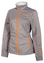 Womens  - Grey - Klim Whistler Mid Layer Jacket