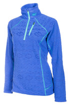 Womens  - Blue - Klim Equinox Mid Layer Pullover