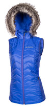 Womens  - Blue - Klim Arise Mid Layer Vest