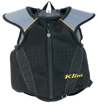Mens & Youth  - Black/Grey - Klim Tek  Armor Vest