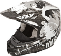 HMK F2 Carbon Pro Snowcross Snowmobile Helmet by Fly Racing