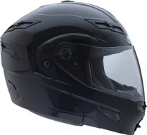 GMax GM54S Modular Solid Dual Lens Snowmobile Helmet