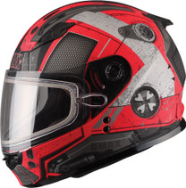 GMax GM49Y Trooper Dual Lens Snowmobile Helmet