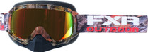 Adult Smoke Lens w/ Solar Finish - Camo - FXR Mission Recon Speed Goggle 2017