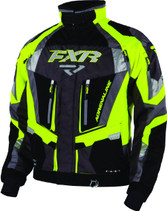 FXR Adrenaline Non-Insulated Shell w/ Insulated Removable Liner Jacket 2017