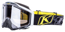 Adult - Black/Grey - Klim Radius Pro K Corp Snowmobile Goggle 2017