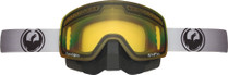 Black/Grey - Dragon NFXs Stretch Transitions Frameless Snowmobile Goggles