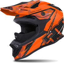 509 Altitude Orange Carbon Fiber Helmet