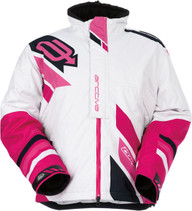 WoWhite/Pink - Arctiva Comp Insulated Jacket